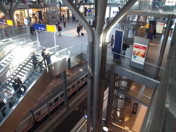 Interior Hauptbahnhof