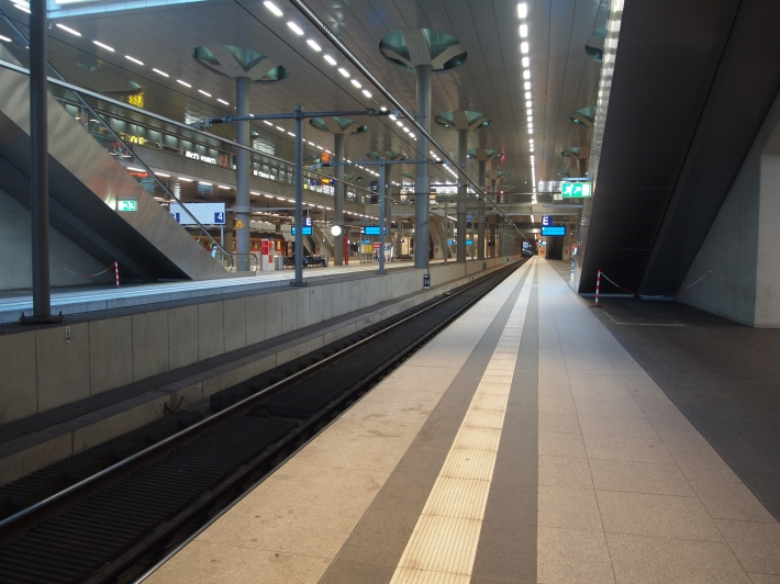 Ground Level Hauptbahnhof