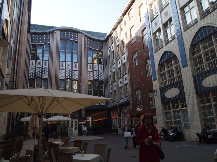 Hackesche Häfe Art Noveau courtyard