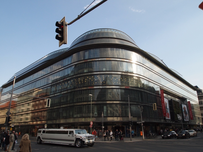 Galeries Lafayette Front